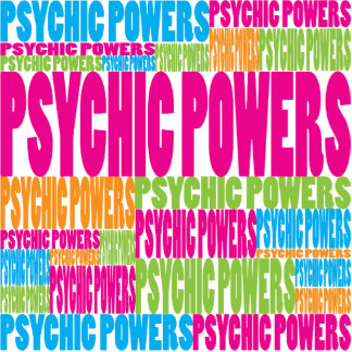 Colorful Psychic Powers Photo Cut Out