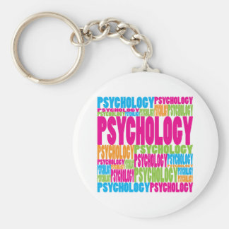 Colorful Psychology Keychain