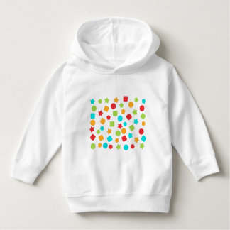 Colorful pullover parka
