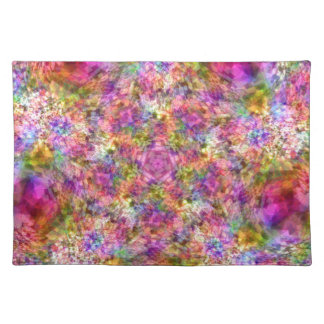 Colorful Purple Design Placemat