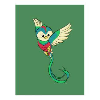 Colorful Quetzal! Postcard