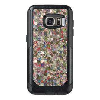 Colorful Quilt Pattern OtterBox Samsung Galaxy S7 Case