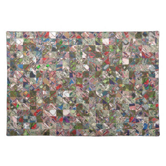 Colorful Quilt Pattern Placemat