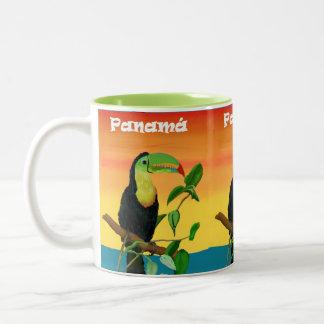 Colorful Rain Forest Toucan Sunrise Mug