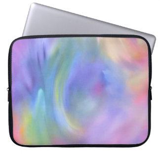Colorful Rainbow Abstract Art, Laptop Sleeve
