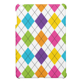 Colorful Rainbow Argyle Diamond Pattern Teen Gifts Cover For The iPad Mini