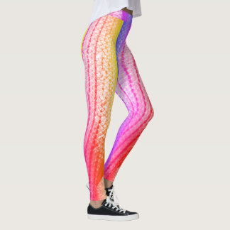 Colorful Rainbow Fish Scales 4Laura Leggings