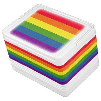 Colorful Rainbow Flag Stripes
