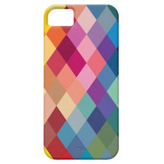 Colorful Rainbow Geometric Phone Case