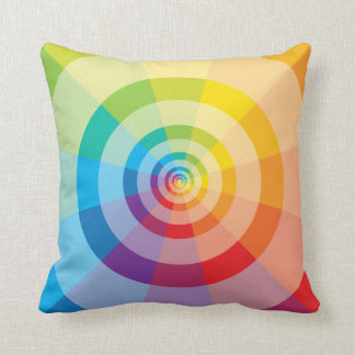 Colorful Rainbow Pillow