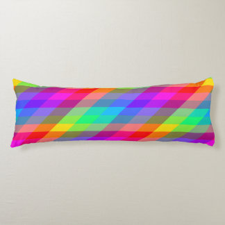 Colorful Rainbow Spectral Prisms Body Pillow