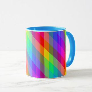 Colorful Rainbow Spectral Prisms Mug
