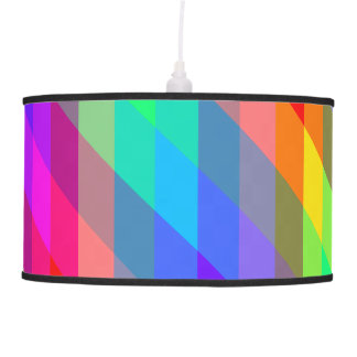 Colorful Rainbow Spectral Prisms Pendant Lamp