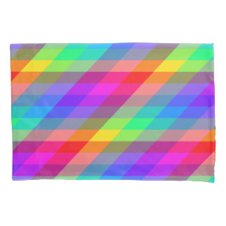 Colorful Rainbow Spectral Prisms Pillowcase