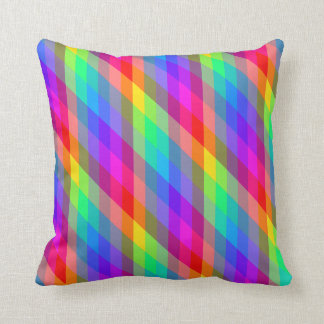 Colorful Rainbow Spectral Prisms Throw Pillow