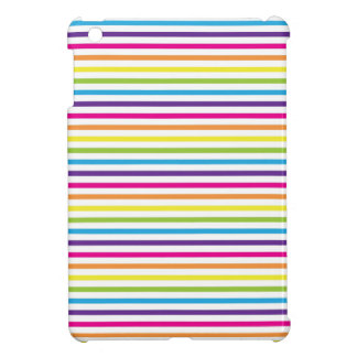 Colorful Rainbow Stripes Pattern Gifts for Teens Cover For The iPad Mini