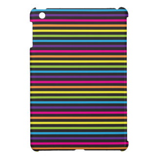 Colorful Rainbow Stripes Pattern Gifts for Teens iPad Mini Cases