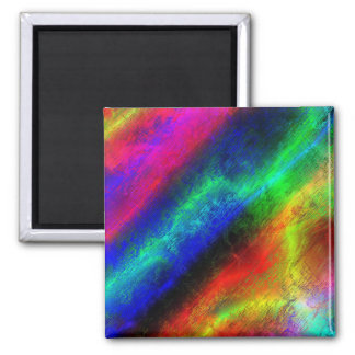 colorful rainbow texture refrigerator magnets