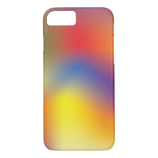 Colorful Rainbow tie dye style iphone case