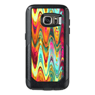 Colorful Rainbow Waves OtterBox Samsung Galaxy S7 Case