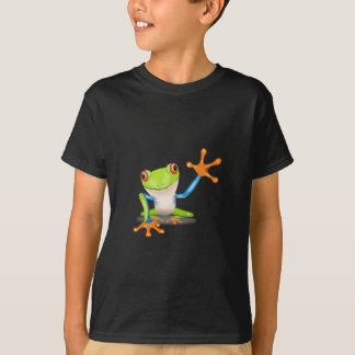 Colorful Red-Eyed Tree Frog Reaching Out T-Shirt