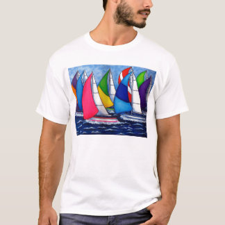 Colorful Regatta Men's T-shirt