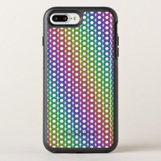 Colorful retro circles OtterBox symmetry iPhone 7 plus case