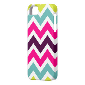 Colorful Retro Colors Chevron iPhone 5 Case