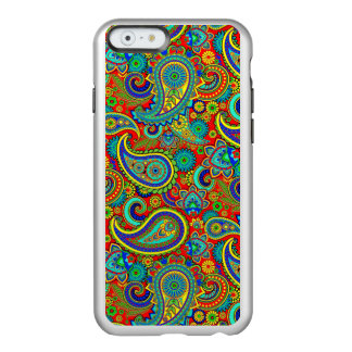 Colorful Retro Floral paisley Pattern Incipio Feather® Shine iPhone 6 Case