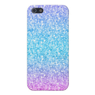 Colorful Retro Glitter And Sparkles Cover For iPhone 5/5S