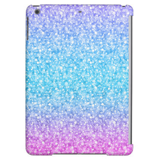 Colorful Retro Glitter And Sparkles iPad Air Covers
