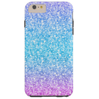 Colorful Retro Glitter And Sparkles Tough iPhone 6 Plus Case