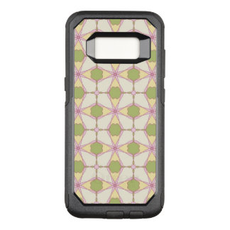 Colorful retro pattern background 3 OtterBox commuter samsung galaxy s8 case