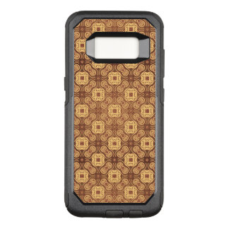 Colorful retro pattern background OtterBox commuter samsung galaxy s8 case