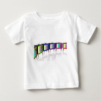 Colorful retro tv's baby T-Shirt