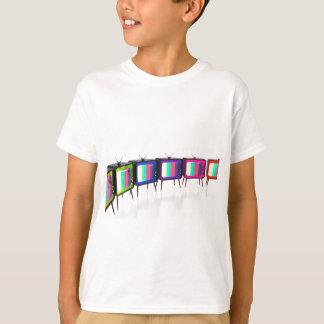 Colorful retro tv's T-Shirt