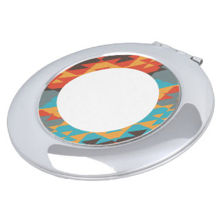 Colorful ring vanity mirrors