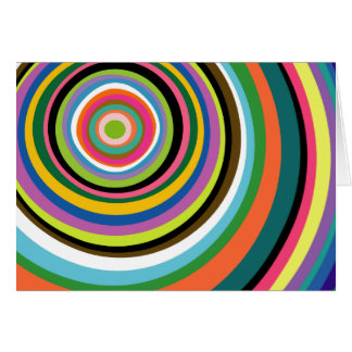 Colorful Rings Card