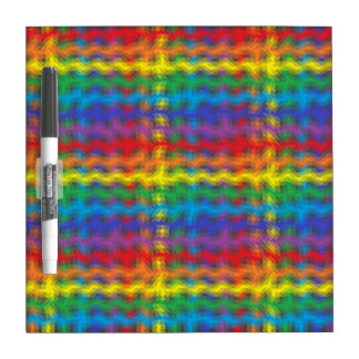 Colorful Ripples Dry Erase Board