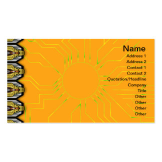 Colorful Ripples Small Transparent Pack Of Standard Business Cards