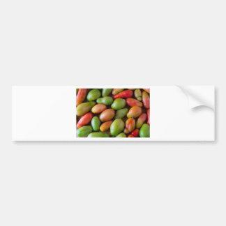 Colorful_Roma_Tomatoes Bumper Sticker