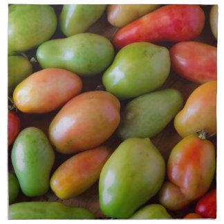 Colorful_Roma_Tomatoes Napkin