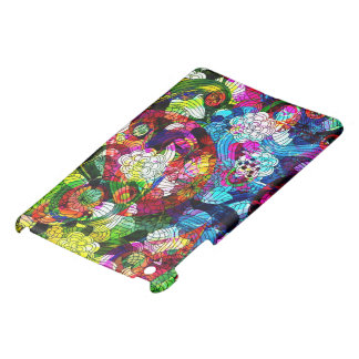 Colorful Romantic Vintage Floral Pattern iPad Mini Cases