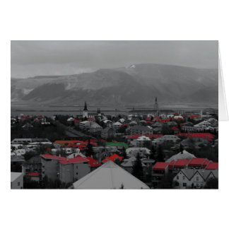 Colorful Roofs Notecards Card
