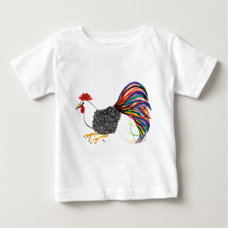 Colorful Rooster Baby T-Shirt