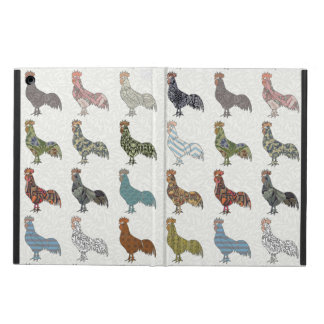 Colorful Rooster Pattern iPad Air Case