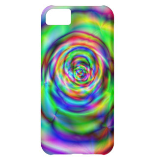 Colorful rose cover for iPhone 5C