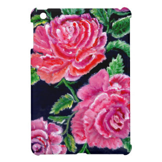 Colorful Rose Flowers iPad Mini Covers