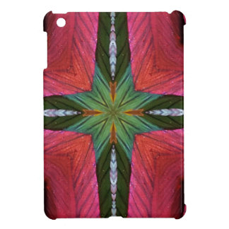 Colorful Rose Green Geometrical Pattern iPad Mini Cover