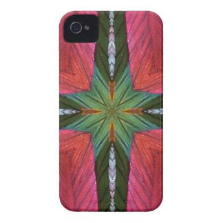 Colorful Rose Green Geometrical Pattern iPhone 4 Case-Mate Cases